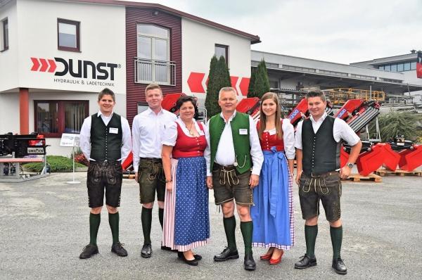 DUNST-Oktoberfest in unserer Zentrale in Grafenschachen